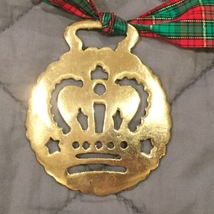 Highly Collectible Vintage British Crown Brass